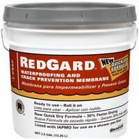 Custom Building Products LQWAF3 Red Gard Waterproofing, 3.5 Gallon