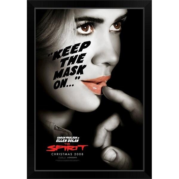 """""""The Spirit - Movie Poster"""" Black Framed Print"""