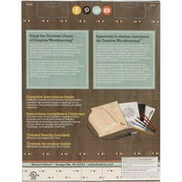Deluxe Woodburning Craft Kit-