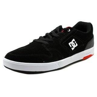 DC Shoes Nyjah S Men Round Toe Suede Black Sneakers