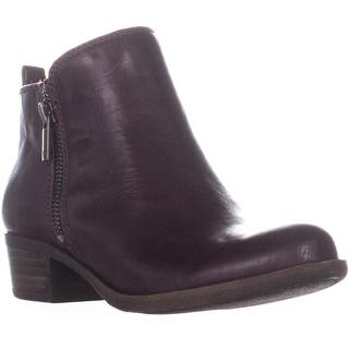 2c1e5832b Lucky Brand Basel Side Zip Ankle Boots