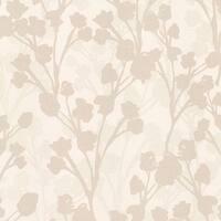Brewster 347-20128 Lawson Beige Botanical Silhouette Wallpaper
