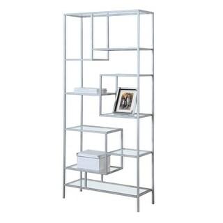 Monarch Specialties I 7158 72 Inch Tall Nine Tier Metal Bookcase