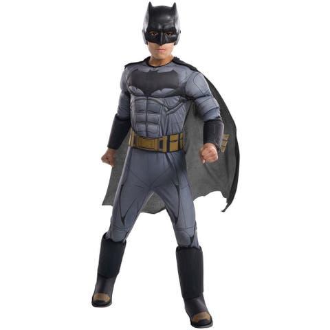 Rubies JL Deluxe Batman Child Costume - Grey