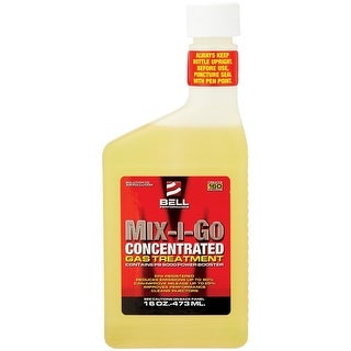 Bell Performance 01016 Mix-I-Go Concentrated Fuel Additive, 16 Oz