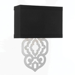 """AF Lighting 8426-2W Grill 2 Light 4"""" Wide Wall Sconce"""