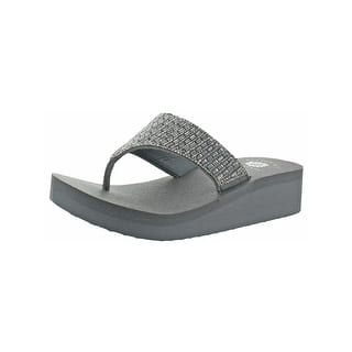 13e1d285241a1 Buy Grey Yellow Box Women's Sandals Online at Overstock.com | Our ...