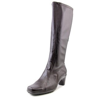 Aerosoles Lasticity Women Square Toe Synthetic Brown Knee High Boot