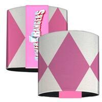 Pink Ranger Sleeve Diamonds White Pink Elastic Wrist Cuff