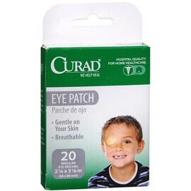 Curad Eye Patches Regular 20 Each