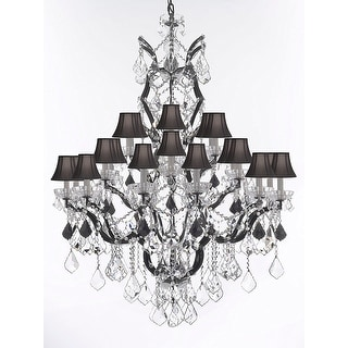 C Baroque Iron Crystal Chandelier Lighting 25 Lights Ping The Best Deals On Chandeliers