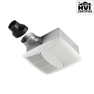 NuTone EZ80N 80 CFM 1.1 Sone Ceiling Mounted Energy Star Rated EZFit Bath Fan