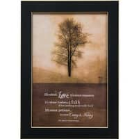 All About Love Framed Print