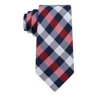 Tommy Hilfiger Mens Buffalo  Neck Tie Silk Checkered - o/s