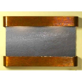 Adagio Sunrise Springs With Black Featherstone in Rustic Copper Finish and Round