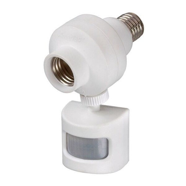 Amertac OMLC7BC Programmable Motion Activated Light Control, White