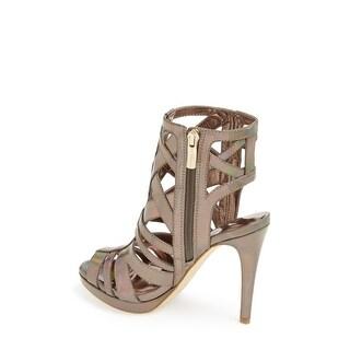 BCBGeneration Womens BG GARLEN Open Toe Casual Strappy Sandals - 9.5