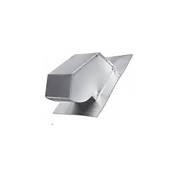 Galvanized Roof Cap With No Screen Dampe Free Shipping Today 25311754