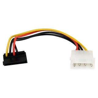 StarTech SATAPOWADAPR StarTech.com 6in 4 Pin Molex to Right Angle SATA Power Cable Adapter - 6