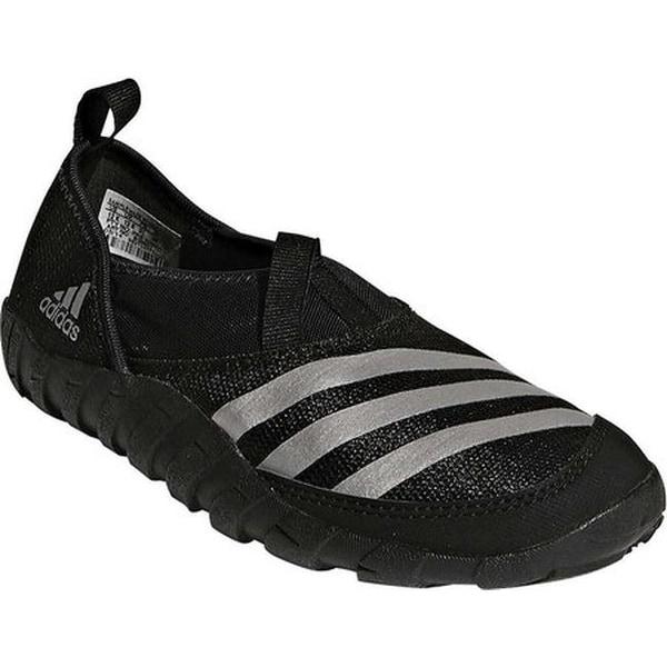 4f822f8d002f adidas Children  x27 s Jawpaw Slip On Water Shoe Black Silver Metallic