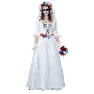 Womens La Novia Muerta Halloween Costume