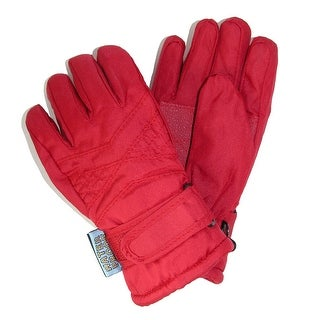 CTM® Toddlers Thinsulate Lined Water Resistant Winter Gloves - One Size