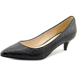 Cole Haan Prieta Low Pump ll Pointed Toe Synthetic Heels