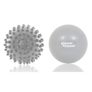 Planet Fitness Hot & Cold Therapy Massage Balls Set (2pc) for MusclesTrigger Point , Deep Tissue