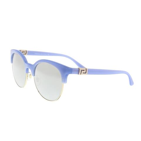 Versace VE4326B 52276V Azure/Pale Gold Round Sunglasses - 53-20-140