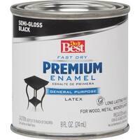 Rust-Oleum S/G Black Latex Enamel 203341D Unit: HPT
