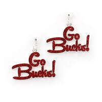 Ohio State Buckeyes Slogan Earrings