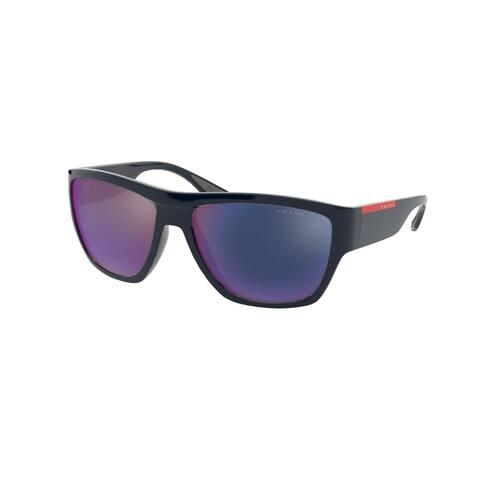 Prada Linea Rossa PS 08VS VY701G 59 Dark Blue Man Pillow Sunglasses
