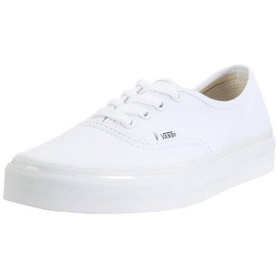 Vans Unisex U Authentic, True White, 8
