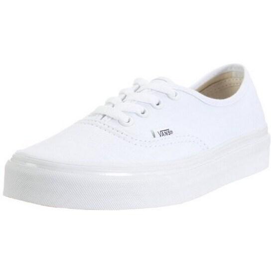 Vans Unisex U Authentic, True White, 9.5