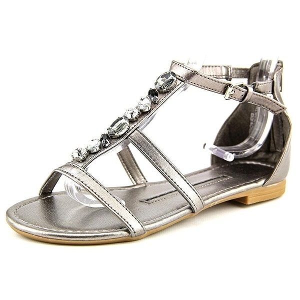 New Directions Womens tracy Open Toe Casual Ankle Strap Sandals