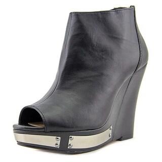 Vince Camuto Waliss Open Toe Leather Wedge Heel