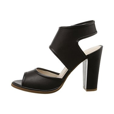 Kenneth Cole Women's Stacy Two-Piece Chunky Heel Sandal