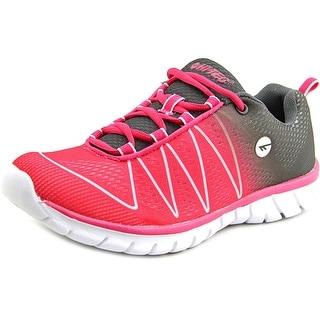Hi-Tec Volt Women Round Toe Synthetic Pink Running Shoe