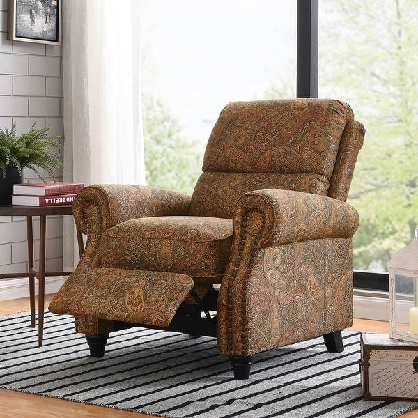 Copper Grove Jessie ProLounger Paisley Push Back Recliner Chair. Opens flyout.