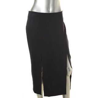N Nicholas Womens Maxi Skirt Pleated Slit - 6