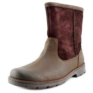 Ugg Australia Foerster Men  Round Toe Suede Brown Snow Boot