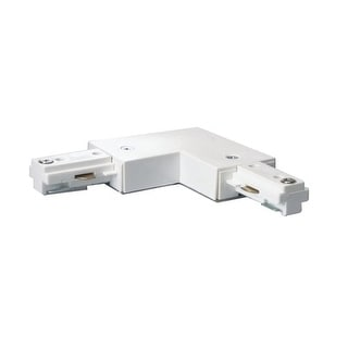 """Nuvo Lighting TP146 White """"L"""" Connector"""