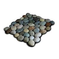 Miseno MT-P3PGO Pebble Natural Stone Mosaic Tile (10.12 SF / Carton) - blend - N/A
