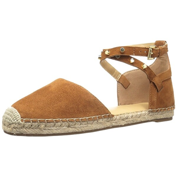 d8bb3cb045 Marc Fisher Womens Maci Leather Closed Toe Ankle Strap Espadrille Flats