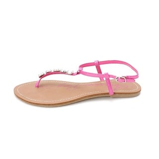 American Rag Womens Katy Open Toe Casual Pink Size 85