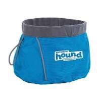 "Outward Hound Port-A-Bowl 48oz. Medium Blue 6"" x 6"" x 3.5"""