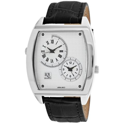 Roberto Bianci Men's Benzo RB0740 Silver Dial Watch