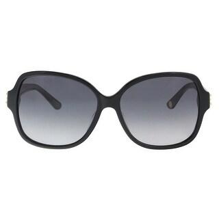 Juicy Couture JU 592/S 08070/9O Black Square Sunglasses - 57-14-135