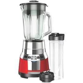 Black & Decker BL1821RG-P FusionBlade Digital Blender, Red