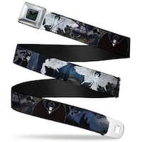 Maleficent Dragon Full Color Grays Black Maleficent Dragon Diaval Forest Seatbelt Belt